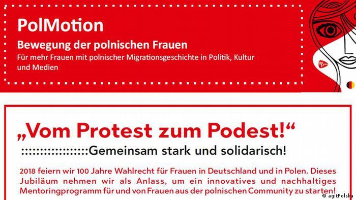 Plakat PolMotion