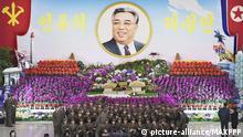 Nordkorea feiert Geburtstag des Staatsgründers Kim Il Sung