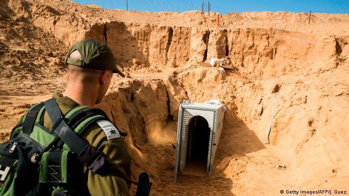 Israel Palästina Tunnelsystem bei Kissufim