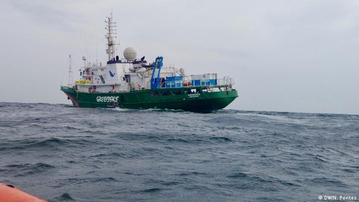 Embarcación Esperanza Greenpeace