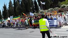 Demonstration Äthiopier in Jerusalem