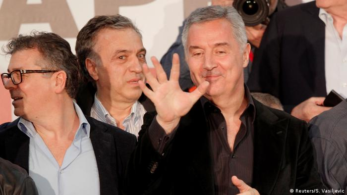Montenegro Präsidentenwahlen 2018 | Milo Djukanovic gewinnt Wahl (Reuters/S. Vasiljevic)