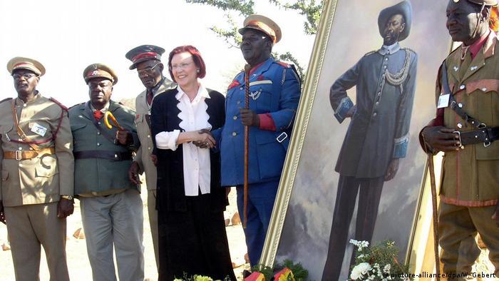 Heidemarie Wieczorek-Zeul in Namibia