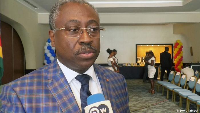 Togo Communications Minister Guy Lorenzo