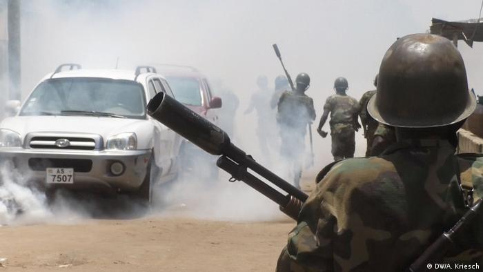 Protestos no Togo a 14 de abril de 2018