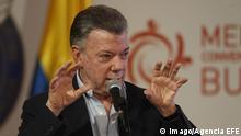 Kolumbien Kongress der Verein der Prese in Lateinamerika (SIP) in Medellin - Juan Manuel Santos