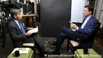USA Interview der ABC mit James Comey (picture-alliance/AP Photo/R. Alswang)