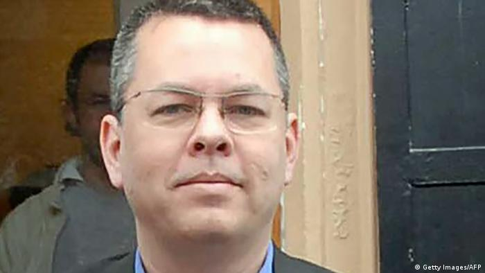 Andrew Brunson pictured in March 2018