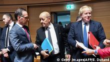 Luxemburg EU-Außenministertreffen