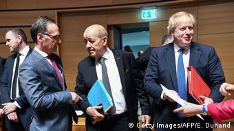 Luxemburg EU-Außenministertreffen (Getty Images/AFP/E. Dunand)