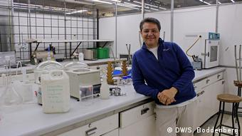 Chile Lithium Abbau Universidad de Santiago (DW/S. Boddenberg)