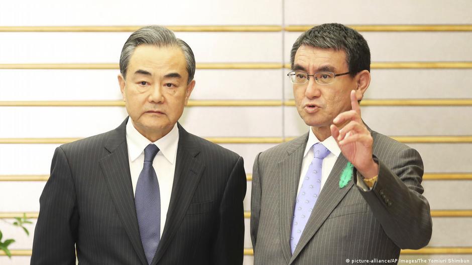China und Japan auf vorsichtigem Kuschelkurs