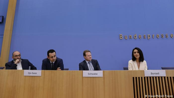 Human rights press conference