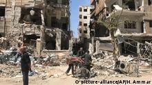 Syrien-Konflikt Duma Ruinen