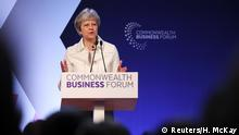Theresa May Commonwealth Treffen London