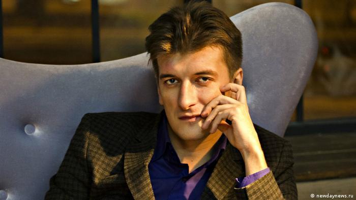 Журналист Максим Бородин