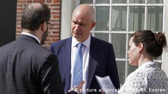 Niederlande OPCW-Sondersitzung zu mutmaßlichem Giftgaseinsatz in Duma   Peter Wilson (picture alliance/AP Photo/M. Kooren)