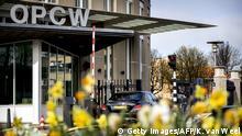 Niederlande OPCW-Sondersitzung zu mutmaßlichem Giftgaseinsatz in Duma