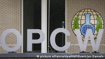Sede de la OPAQ (OPCW, por sus siglas en inglés), en La Haya, Países Bajos.