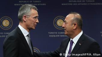 Treffen NATO Türkei Stoltenberg Cavusoglu