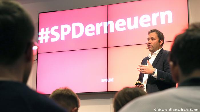 SPD stellt Erneuerungsprogramm vor Klingbeil