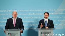 Turkish Energy and Natural Resources Minister Albayrak in Germany