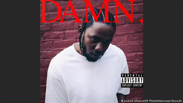 USA Cover von Kendrick Lamar Damn. (Foto: picture alliance/AP Photo/Interscope Records)