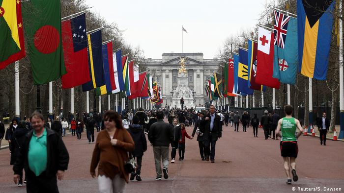 UK Eröffnung Commonwealth Meeting 2018 | Buckingham Palace (Reuters/S. Dawson)