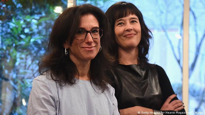 Journalists Jodi Kantor und Megan Twohey in New York