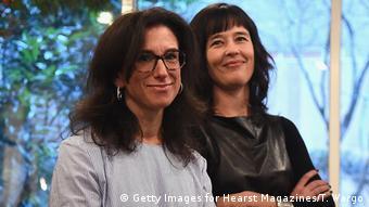 As jornalistas Jodi Kantor (esq.) e Megan Twohey