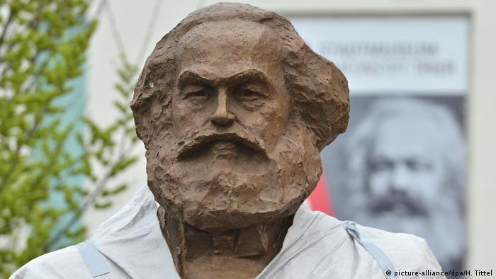Новый памятник Марксу