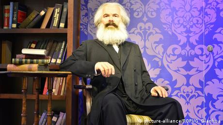 Karl Marx wax figure / Madame Tussauds in China