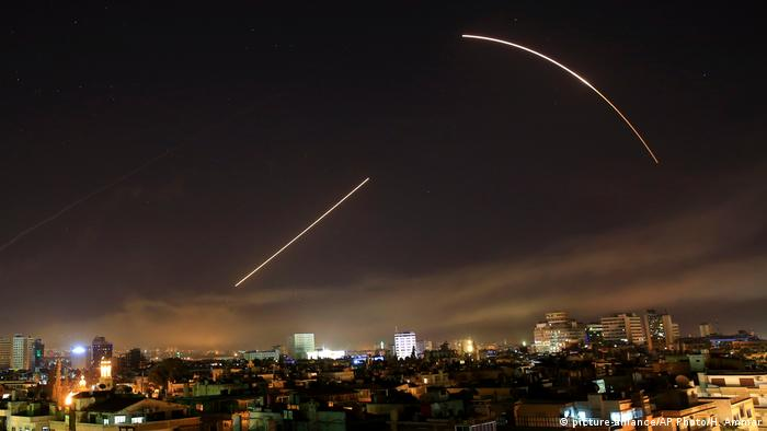 Syrien Raketenangriff (picture-alliance/AP Photo/H. Ammar)