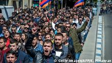Armenien - Proteste in Eriwan