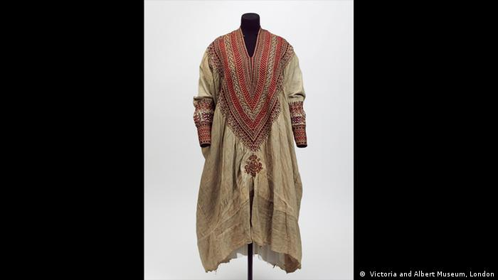 An Ethiopian ancient dress ( Victoria and Albert Museum, London)