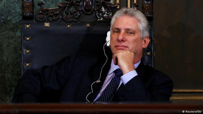 Kuba Vizepräsident Miguel Diaz-Canel (Reuters/Str)