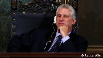 Kuba Vizepräsident Miguel Diaz-Canel