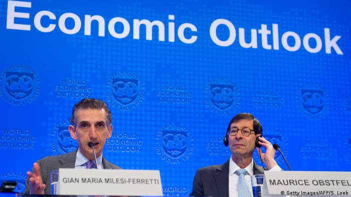 Washington Economic Outlook des IWF
