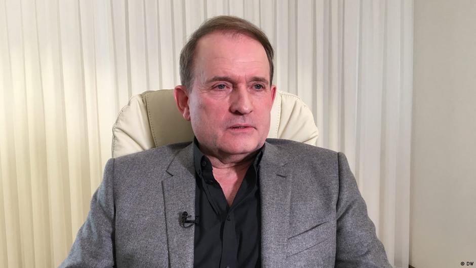 Ukraine Politiker Viktor Medvetschuk