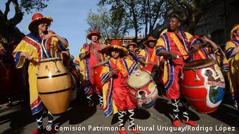 Lateinamerika Immaterielles Kulturerbe - Uruguay - Candombe (Comisión Patrimonio Cultural Uruguay/Rodrigo López)