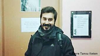 Türkei Akademikerdemo - Emre Tansu Keten