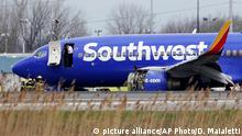 USA Southwest Airlines Notlandung in Philadelphia
