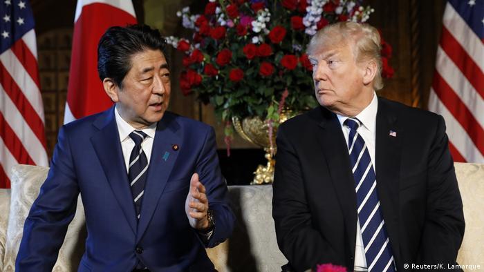 Donald Trump, Shinzo Abe to meet ahead of expected North Korea summit
