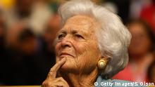 USA Barbara Bush Ex First Lady