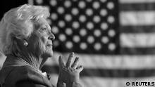 Barbara Bush Ex First Lady USA