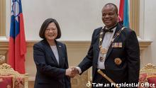 Swasiland Besuch Tsai Ing-Wen