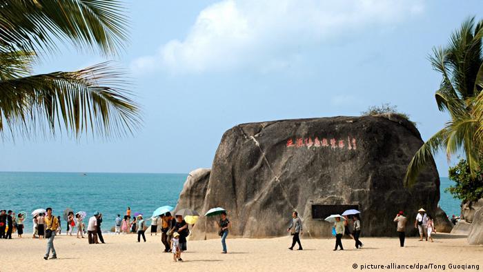 China - Strände auf der Insel Hainan - Sanya (picture-alliance/dpa/Tong Guoqiang)