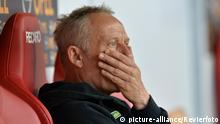 1. FSV Mainz 05 - SC Freiburg Trainer Christian Streich (picture-alliance/Revierfoto)