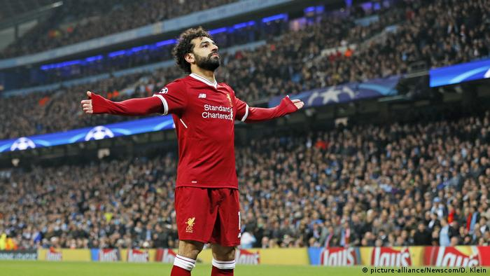 Fußball Manchester City v Liverpool - Mohamed Salah (picture-alliance/Newscom/D. Klein)
