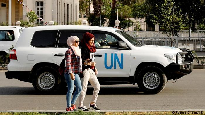 Ujumbe wa usalama wa UN washambuliwa Douma